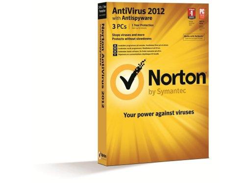 Symantec Norton AntiVirus 2012 Nordisk 3 brukere