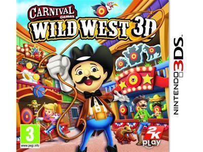 Carnival Wild West 3D til 3DS