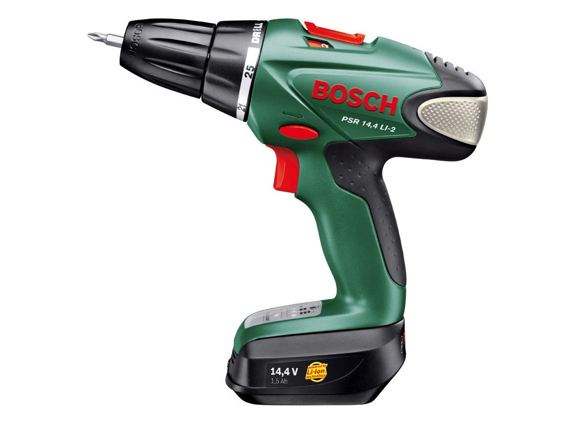 Best pris på Bosch PSR 14,4 LI-2 - Se priser før kjøp i Prisguiden