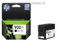 HP 932XL Blekk Sort