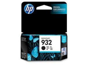 HP 932 Blekk Sort