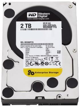 Western Digital RE SAS Enterprise 2TB