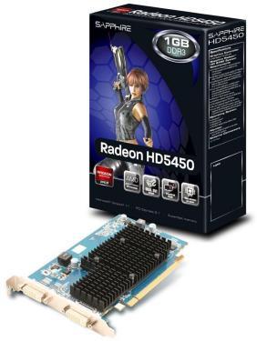 Sapphire Radeon HD 5450 1GB Heatsink