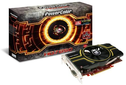 PowerColor Radeon HD 7850 2GB DisplayPort