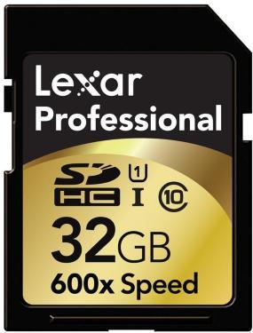 Lexar Professional 600X SDHC 32GB UHS-I