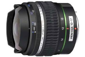 Pentax smc DA 10-17mm Fish-Eye F3.5-4.5ED (IF)