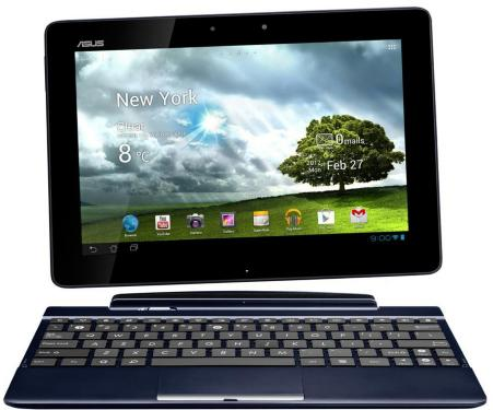 Asus Transformer Pad TF300T Wi-Fi med Docking