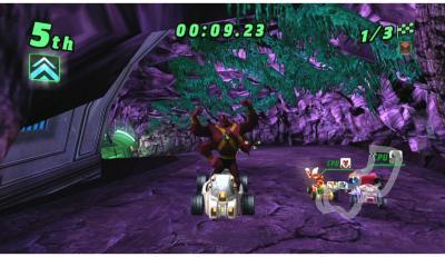 Ben 10: Galactic Racing til Wii