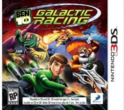 Ben 10: Galactic Racing til 3DS
