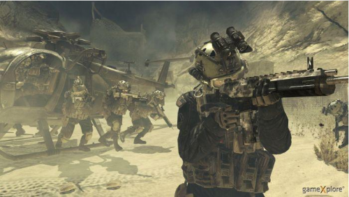 Call of Duty Modern Warfare 2 Platinum til PlayStation 3