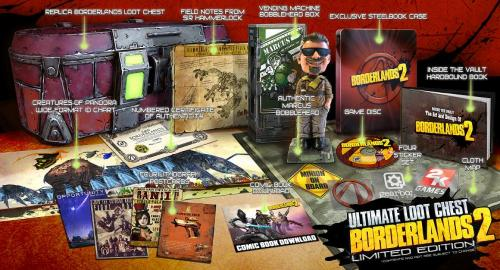 Borderlands 2 Ultimate Loot Chest Edition  til Xbox 360