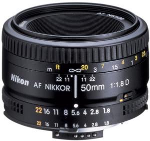 Nikon Nikkor AF 50mm f/1.8D