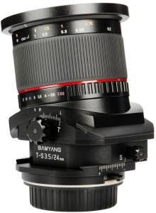 Samyang T-S 24mm f/3.5 ED AS UMC for Canon