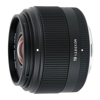 Sigma 19mm F2.8 EX DN for mFT