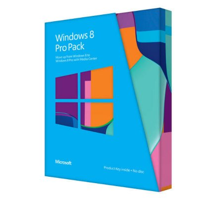 Microsoft Windows 8 Professional Norsk (oppgradering)
