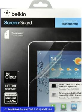 Belkin Transparent Screen Guard 10.1