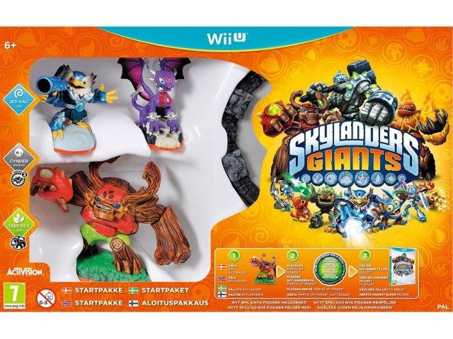 Skylanders Giants Starter Pack til Wii U