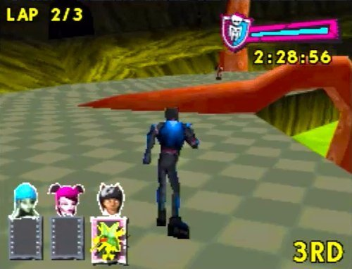 Monster High: Skultimate Roller Maze til DS