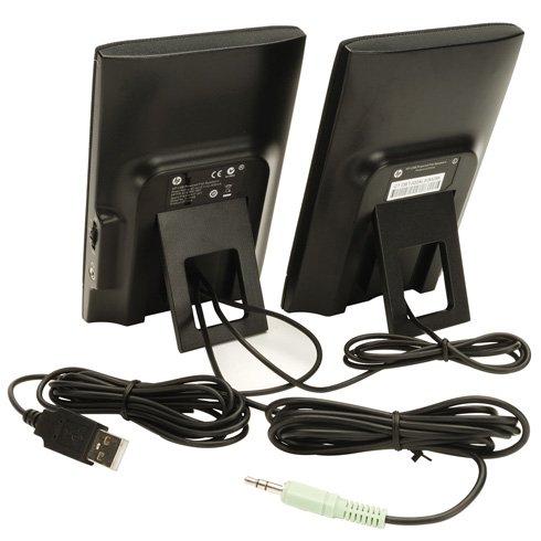 HP Thin USB Powered Speakers 8xosnn
