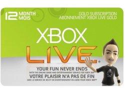 Microsoft Live GOLD 12 måneder