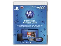Sony Playstation Network Prepaid 200 Kr