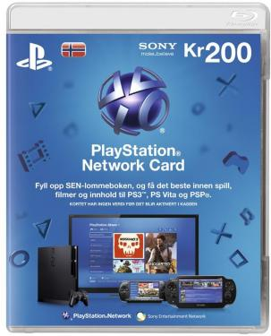 Sony Playstation Network Prepaid 200 Kr