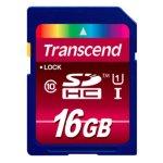 Transcend SDHC Class 10 UHS-1 16GB