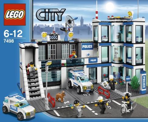 Bilderesultat for lego city politistasjon