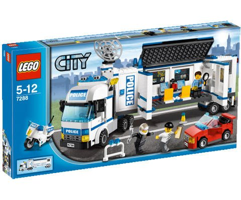 LEGO City Mobil Politienhet