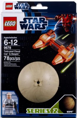 LEGO Star Wars Twin-pod & Bespin