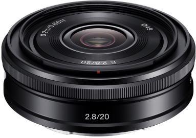 Sony SEL-20F28 20mm F2.8 pancake