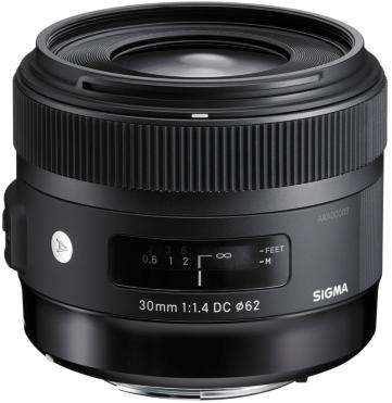 Sigma 30mm F1.4 DC HSM for Sigma