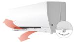 Mitsubishi FH25 varmepumpe