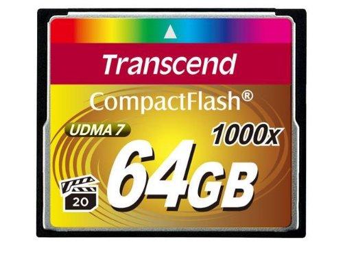 Transcend Compact Flash 1000X 64GB
