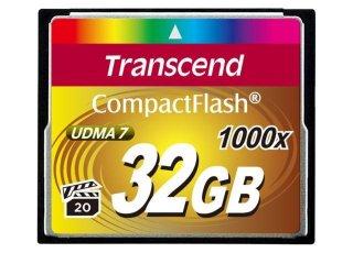 Transcend Compact Flash 1000X 32GB
