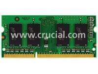 Crucial DDR3 1333MHz SODIMM 2GB 1.35V/1.5V