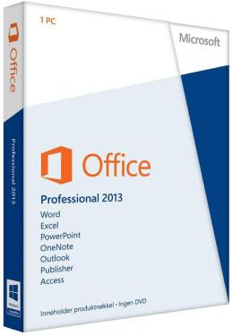 Microsoft Office Professional 2013 Eng