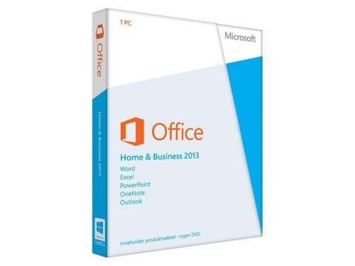 Microsoft Office Home & Business 2013 Engelsk