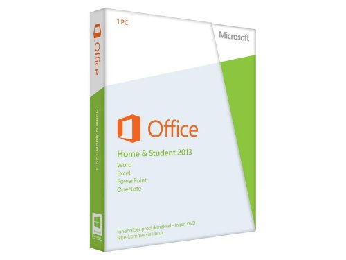Microsoft Office Home and Student 2013 Norsk