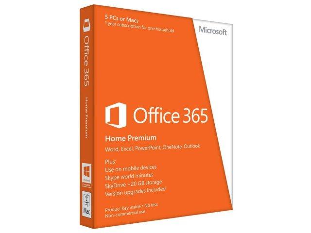 Microsoft Office 365 Home Premium (Engelsk)