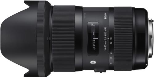 Sigma 18-35mm F1.8 DC HSM for Pentax
