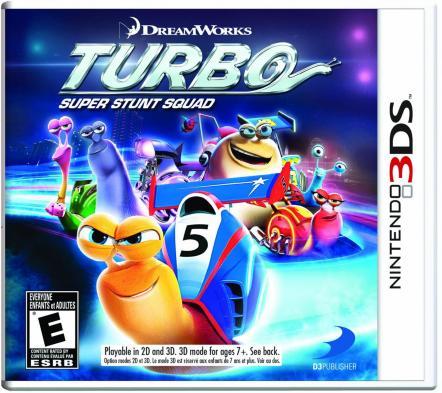 Turbo: Super Stunt Squad til 3DS