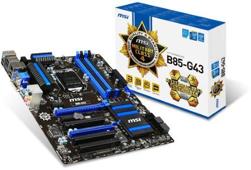 MSI B85-G43