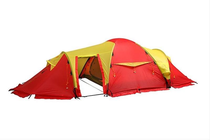 Test av telt: helårstelt og ekspedisjonstelt Tester