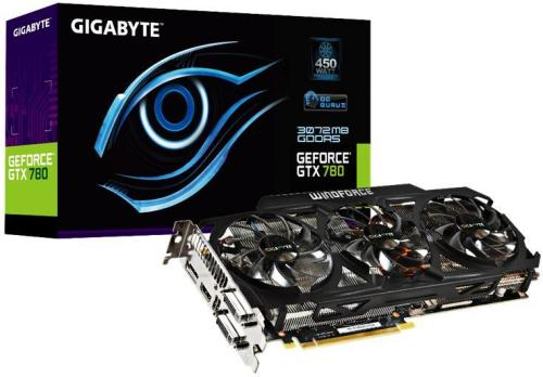 Gigabyte GeForce GTX 780 3GB Windforce 3X