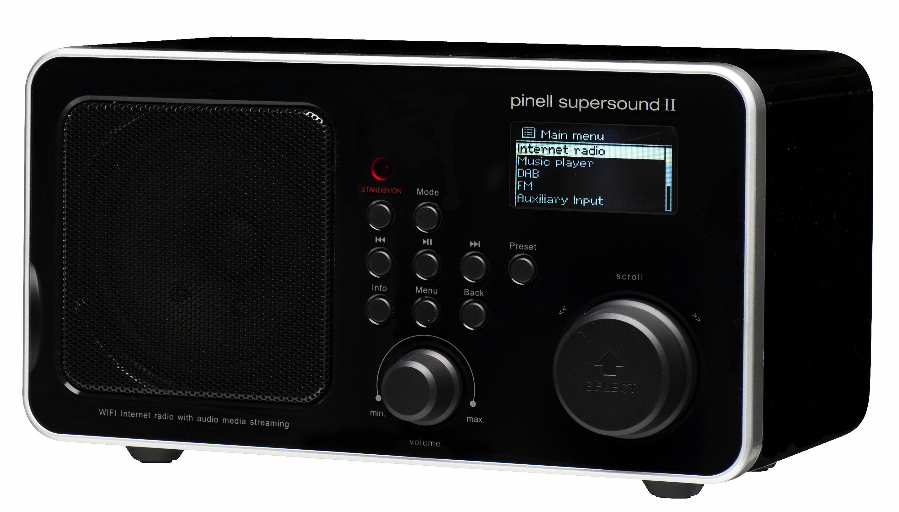 6ec813ddd Best pris på Pinell DAB-radio og nettradio - Se priser før kjøp