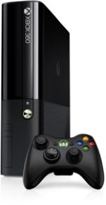 Microsoft Xbox 360 med Xbox One kabinett