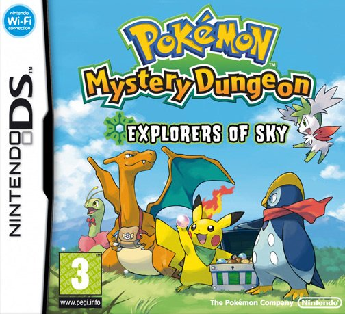 Pokémon Mystery Dungeon: Explorers of Sky til DS