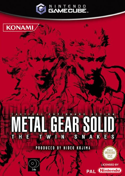 Metal Gear Solid: The Twin Snakes til GameCube
