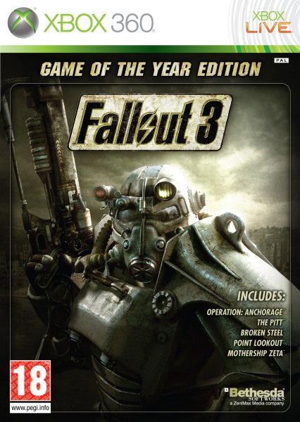 Fallout 3: Game of the Year Edition til Xbox 360